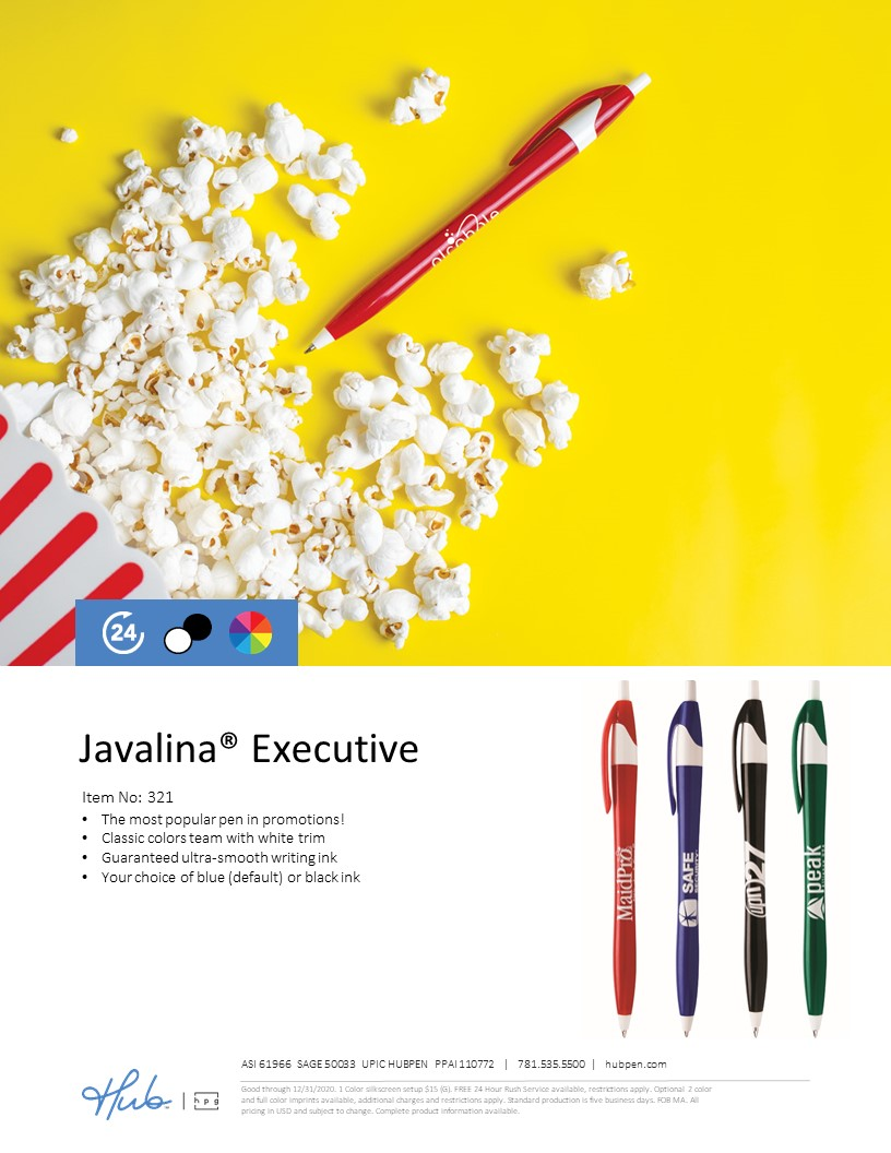 Javalina Executive pen